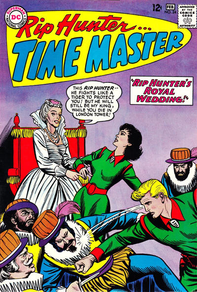 Cover for Rip Hunter ... Time Master (DC, 1961 series) #24