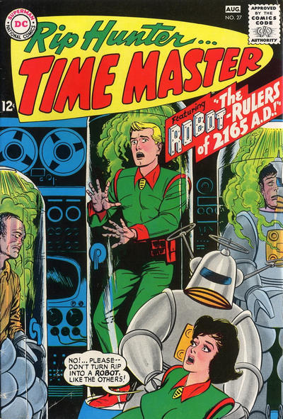 Cover for Rip Hunter ... Time Master (DC, 1961 series) #27