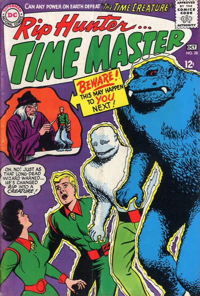 Cover for Rip Hunter ... Time Master (DC, 1961 series) #28