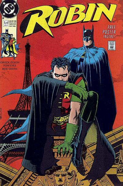Cover for Robin (DC, 1991 series) #1 [Newsstand]