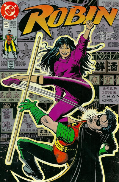 Cover for Robin (DC, 1991 series) #4