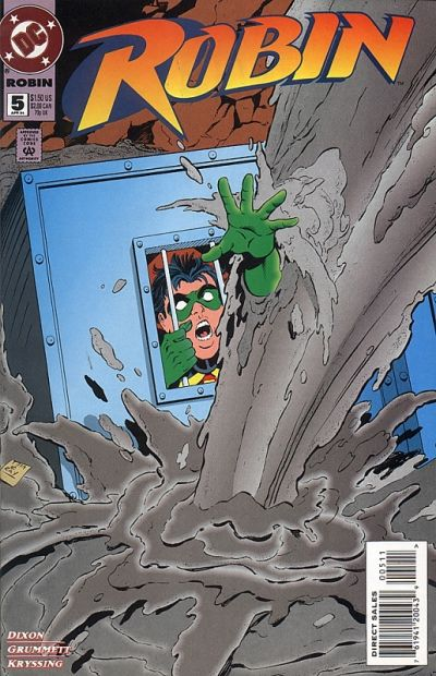 Cover for Robin (DC, 1993 series) #5 [Direct Sales]