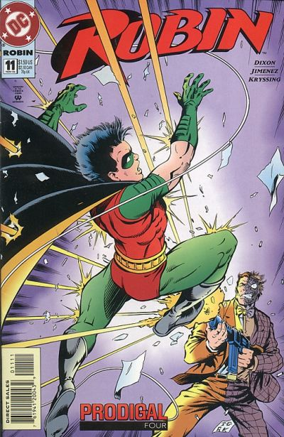Cover for Robin (DC, 1993 series) #11