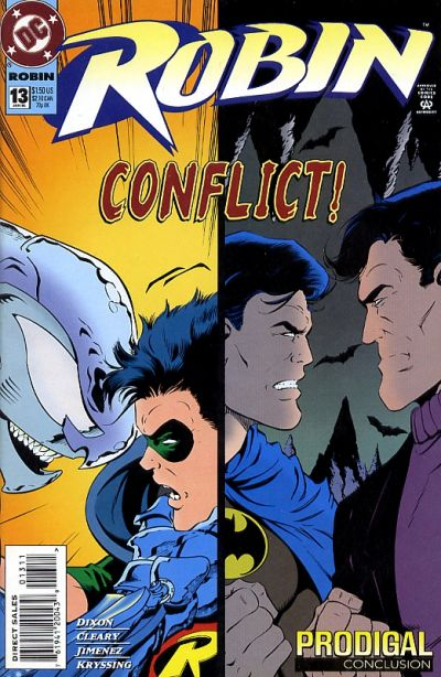 Cover for Robin (DC, 1993 series) #13