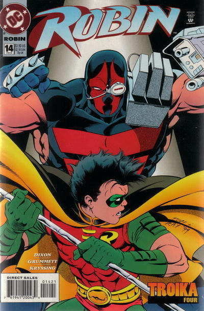 Cover for Robin (DC, 1993 series) #14 [Deluxe]