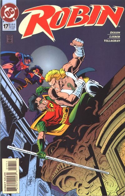 Cover for Robin (DC, 1993 series) #17