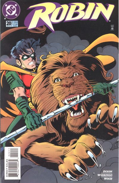 Cover for Robin (DC, 1993 series) #20