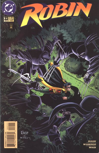 Cover for Robin (DC, 1993 series) #22