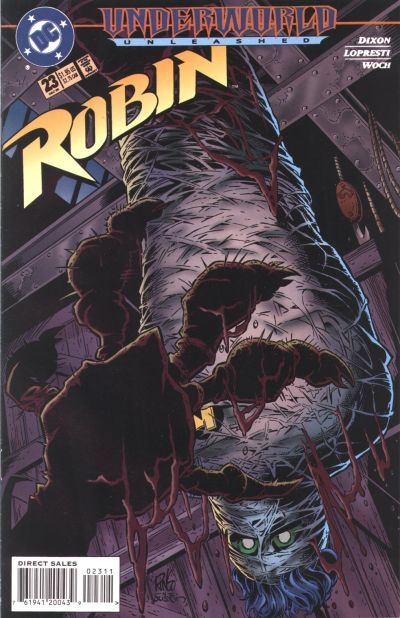 Cover for Robin (DC, 1993 series) #23
