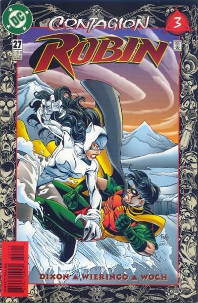 Cover for Robin (DC, 1993 series) #27
