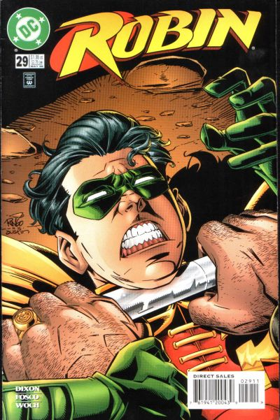 Cover for Robin (DC, 1993 series) #29