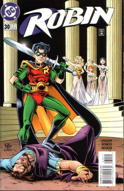 Cover for Robin (DC, 1993 series) #30