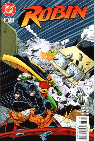Cover for Robin (DC, 1993 series) #31