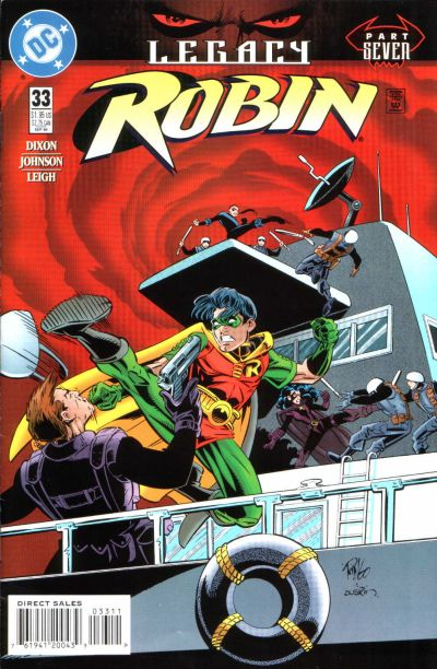 Cover for Robin (DC, 1993 series) #33