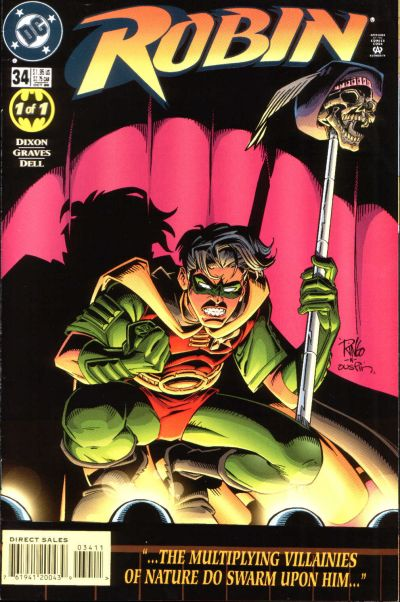 Cover for Robin (DC, 1993 series) #34