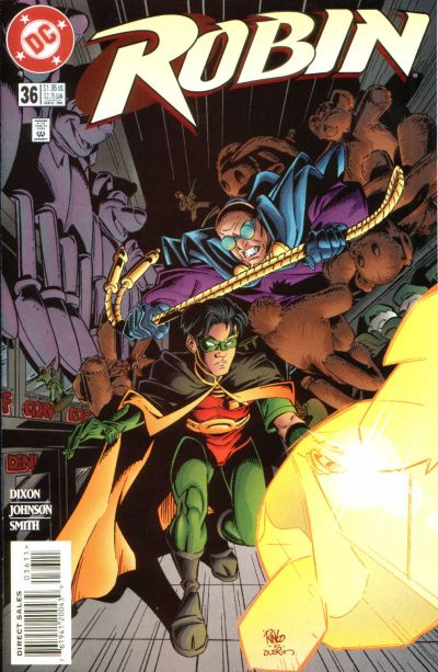 Cover for Robin (DC, 1993 series) #36