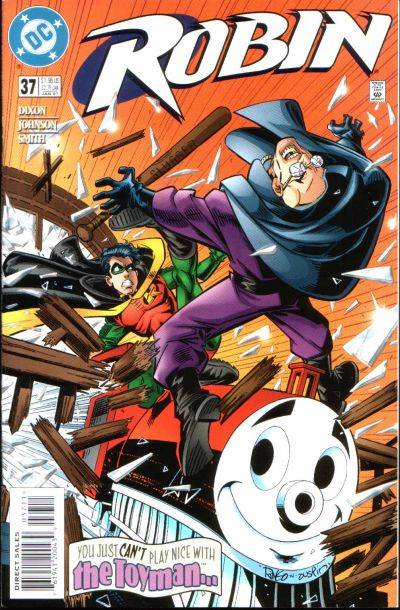 Cover for Robin (DC, 1993 series) #37