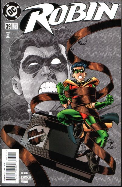 Cover for Robin (DC, 1993 series) #39