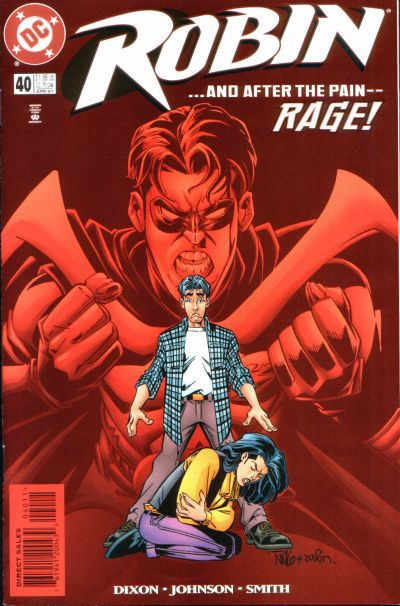 Cover for Robin (DC, 1993 series) #40
