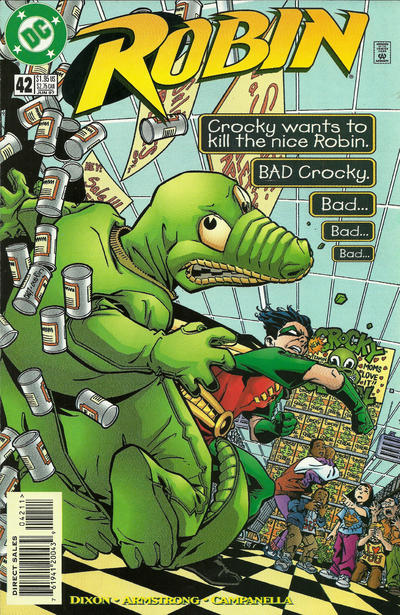 Cover for Robin (DC, 1993 series) #42