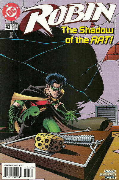 Cover for Robin (DC, 1993 series) #43
