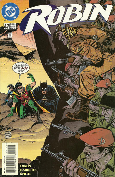 Cover for Robin (DC, 1993 series) #47