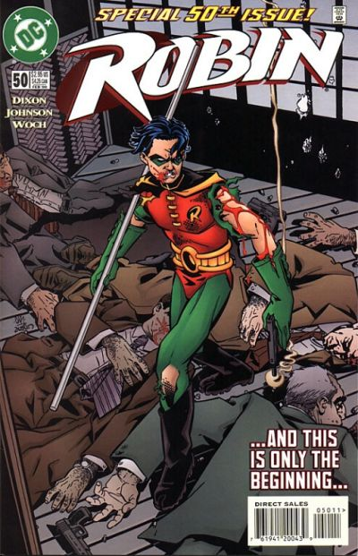 Cover for Robin (DC, 1993 series) #50