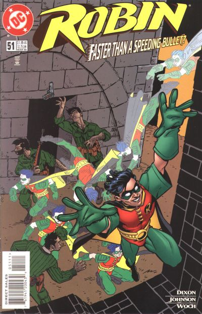 Cover for Robin (DC, 1993 series) #51