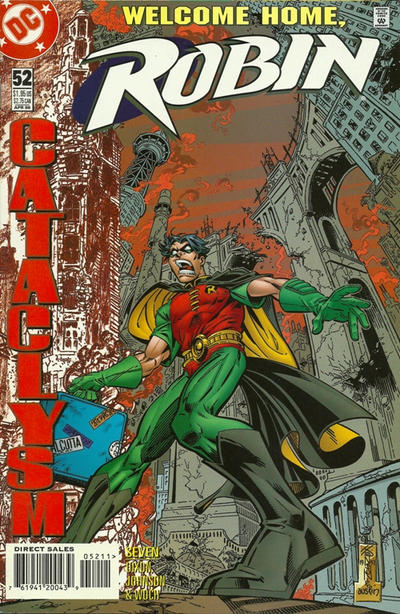 Cover for Robin (DC, 1993 series) #52