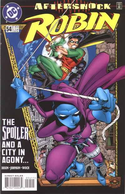 Cover for Robin (DC, 1993 series) #54