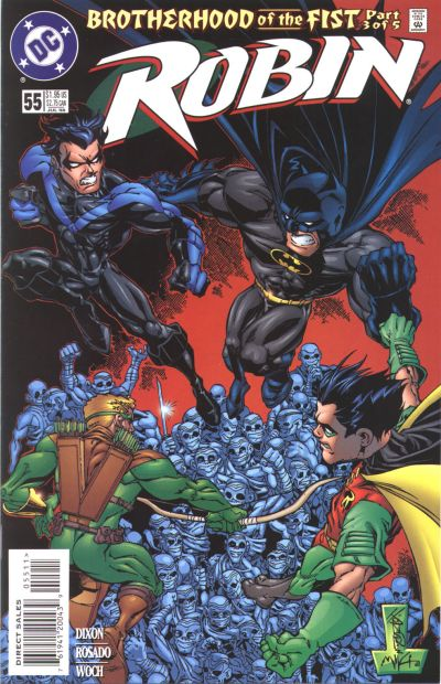 Cover for Robin (DC, 1993 series) #55