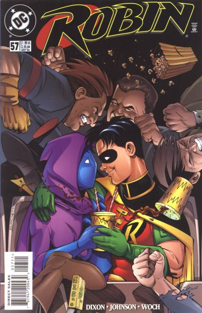 Cover for Robin (DC, 1993 series) #57