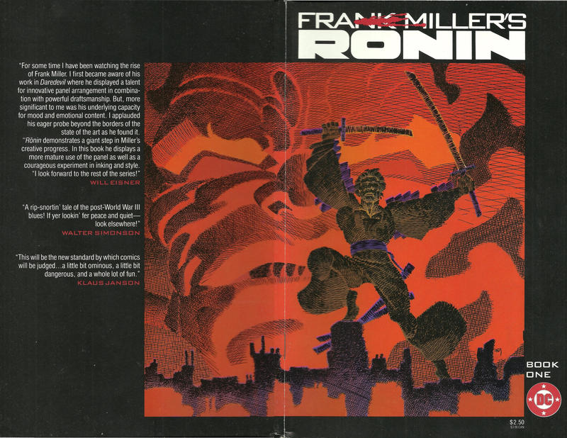 Cover for Rōnin (DC, 1983 series) #1