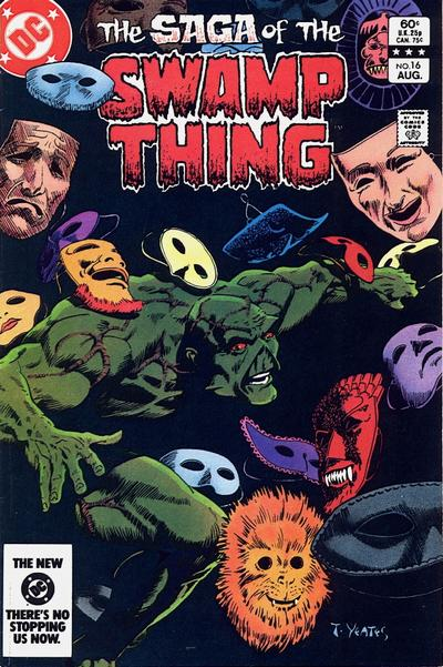 Cover for The Saga of Swamp Thing (DC, 1982 series) #16 [Direct-Sales]
