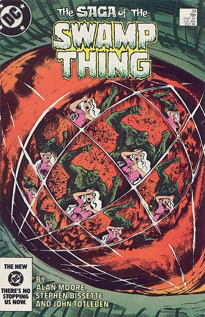 Cover for The Saga of Swamp Thing (DC, 1982 series) #29 [Direct]