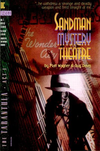 Cover for Sandman Mystery Theatre (DC, 1993 series) #1