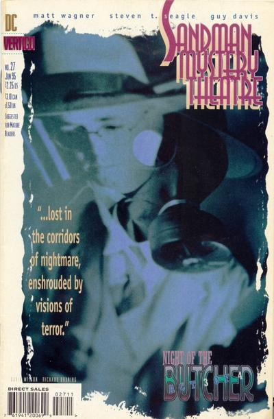 Cover for Sandman Mystery Theatre (DC, 1993 series) #27