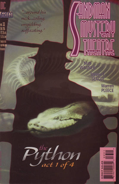 Cover for Sandman Mystery Theatre (DC, 1993 series) #33