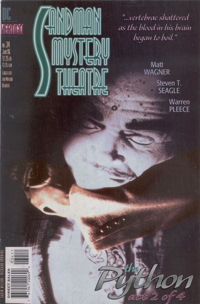 Cover for Sandman Mystery Theatre (DC, 1993 series) #34