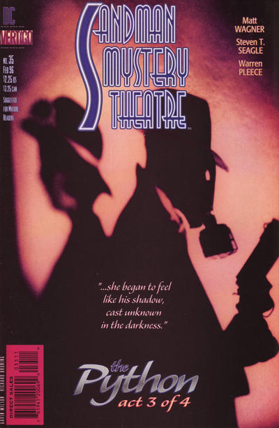 Cover for Sandman Mystery Theatre (DC, 1993 series) #35
