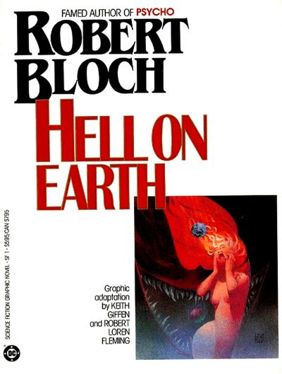 Cover for Science Fiction Graphic Novel (DC, 1985 series) #SF 1 - Hell on Earth