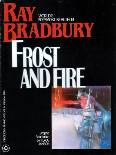 Cover for Science Fiction Graphic Novel (DC, 1985 series) #SF 3 - Frost and Fire