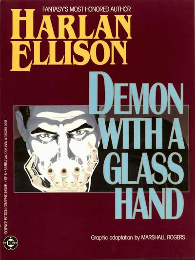 Cover for Science Fiction Graphic Novel (DC, 1985 series) #SF 5 - Demon with a Glass Hand