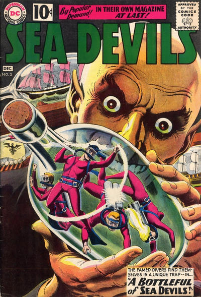 Cover for Sea Devils (DC, 1961 series) #2