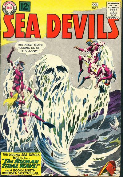Cover for Sea Devils (DC, 1961 series) #7