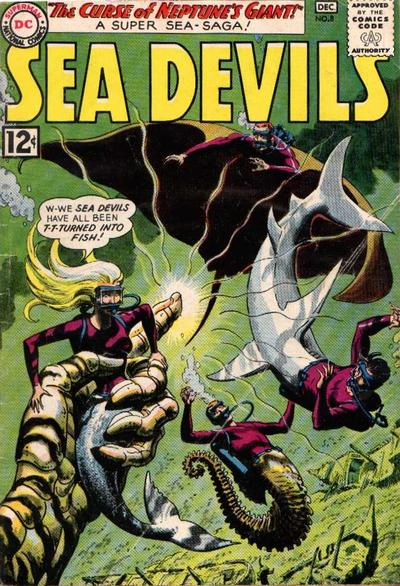 Cover for Sea Devils (DC, 1961 series) #8