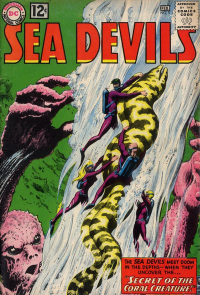 Cover for Sea Devils (DC, 1961 series) #9