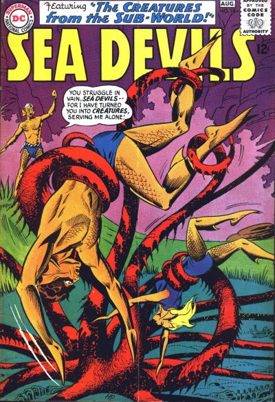 Cover for Sea Devils (DC, 1961 series) #18