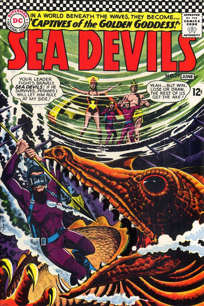 Cover for Sea Devils (DC, 1961 series) #29