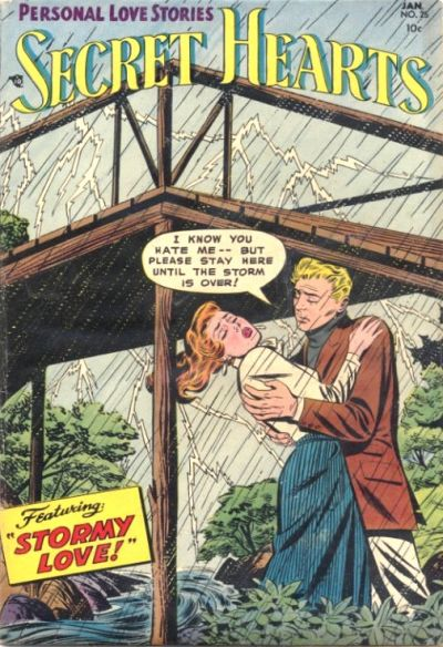 Cover for Secret Hearts (DC, 1949 series) #25